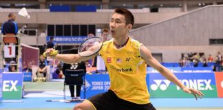 Lee Chong Wei advances to the second round of Indonesia Open easily