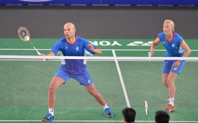 Robert Blair and Imogen Bankier was given a real scare as they fought back to beat Goh V Shem-Lim Yin Loo in 3 sets