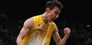 Wish Chong Wei the best luck for the World Championships