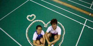 Shuttler Derek Wong and Vanessa Neo put wedding plans on hold to pursue his Olympic dream. Photo: Cheryl Tay