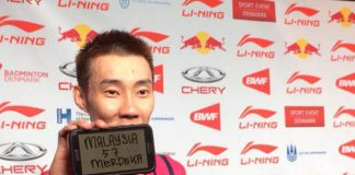 Lee hong Wei hopes to bring cheer to Malaysia on independence day by winning the World Championships title