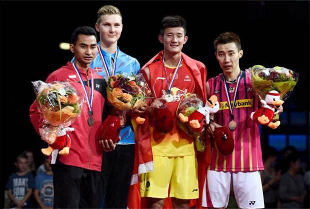 We are proud of you, Chong Wei!
