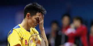 Liew Daren suffered another blow to his career when he lost to India's P. Kashyap in the quarter-finals of the men's singles event at the Glasgow