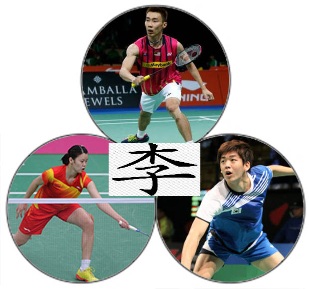 Wish Lee Chong Wei, Li Xuerui and Lee Yong-dae good luck in Incheon