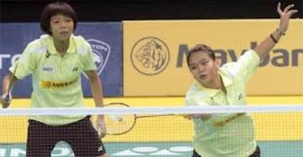 Lee Meng Yean and Chow Mei Kuan continues their impressive run at the Indonesian Masters GPG