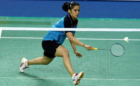 Saina Nehwal scores the first opening match for India
