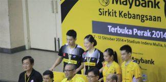 Chan Peng Soon, Ng Hui Lin, Lai Pei Jing, Tan Aik Quan (back row, from left)