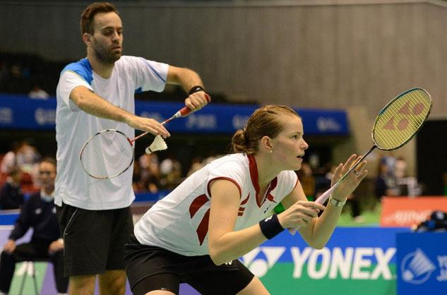 Joachim Fischer Nielsen and Christinna Pedersen are the mixed doubles favorite in Denmark Open