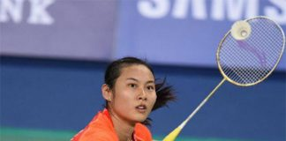 Wang Yihan is the two-time winner of the Denmark Open tournament in Odense