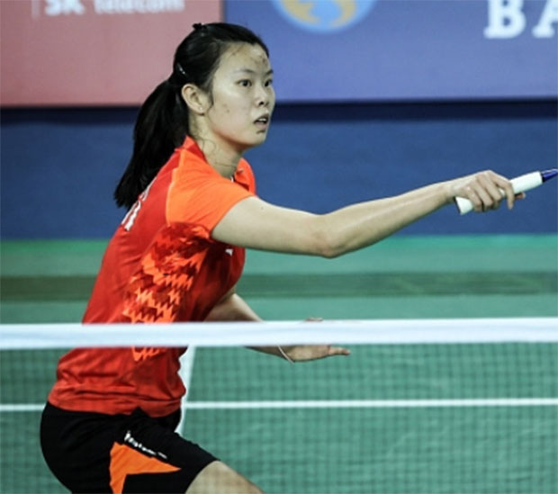 Li Xue Rui is going strong in Denmark Open
