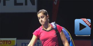 Carolina Marin at Bitburger Badminton Open