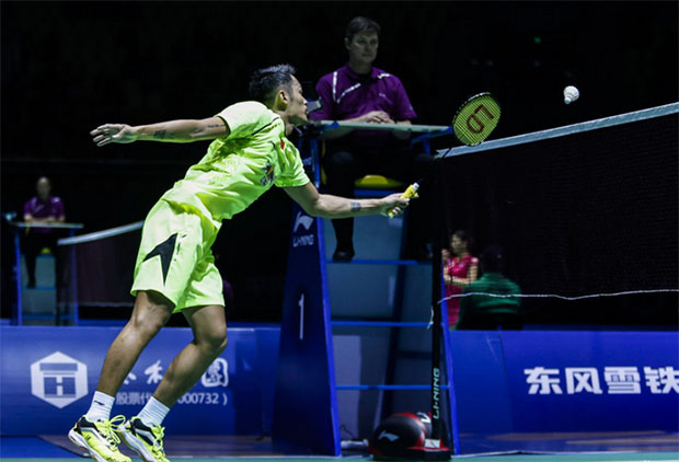 Lin Dan is extremely lonely without Lee Chong Wei