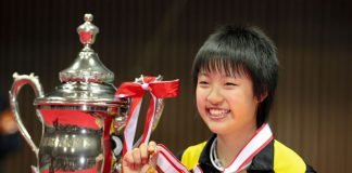 At the age of 16, Nozomi Okuhara, became the youngest women's singles champion ever at the All Japan Badminton Championships in 2011