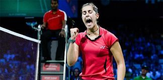 Carolina Marin cruisese into Hong Kong Open semi-final
