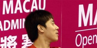 Tan Chun Seang retires from his opening match due to injury