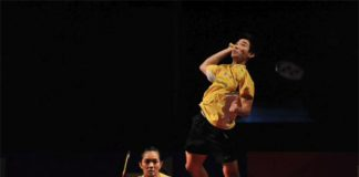 Chan Peng Soon and Lai Pei Jing deliver the winning point for Malaysia