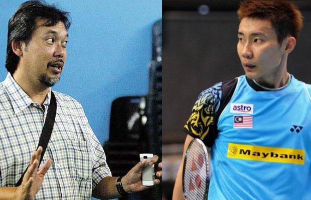 Razif Sidek (left) and Lee Chong Wei