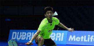 Chen Long will meet Hans-Kristian Vittinghus in the BWF Destination Dubai World Superseries Men's Finals