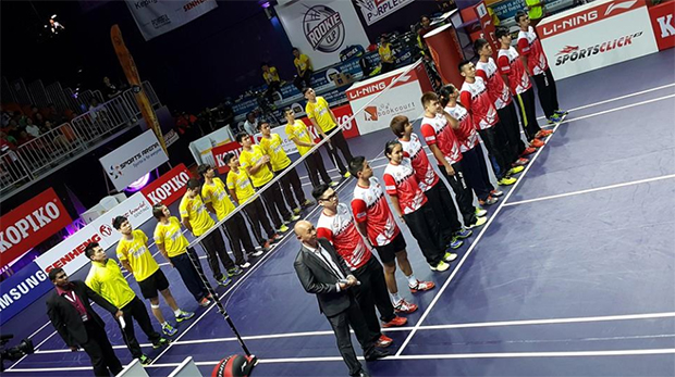 Can you find Simon Santoso, Chong Wei Feng and Tan Boon Heong in this picture? (Photo: Purple League's FB)