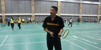He Guoquan is Lin Dan's junior coach