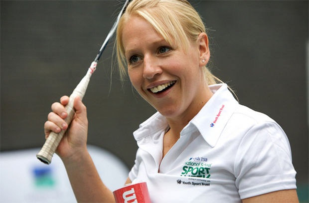 Gail Emms is one of the hottest female badminton players in the 2000's