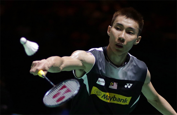 Good luck to Lee Chong Wei!