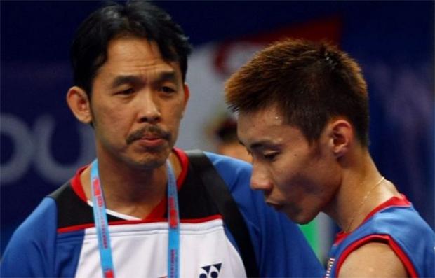 Rashid Sidek and Lee Chong Wei
