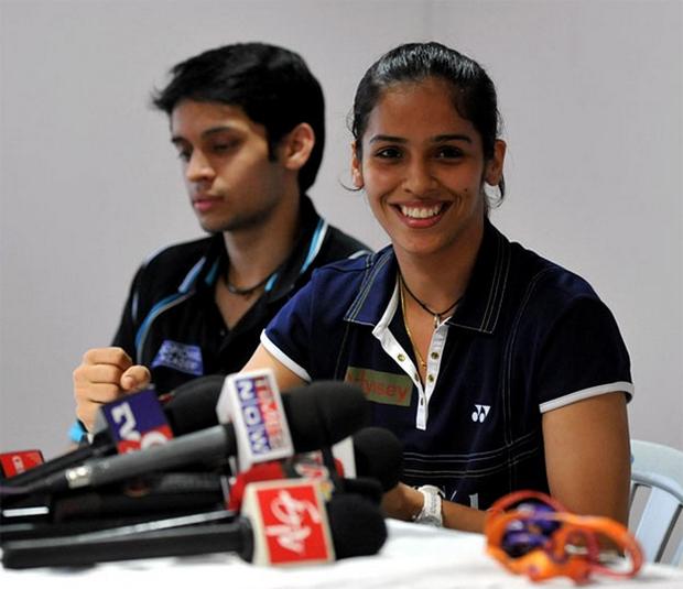 P. Kashyap, Saina Nehwal (right) may be sued by BAI
