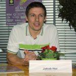 England's badminton head coach Jakob Hoi