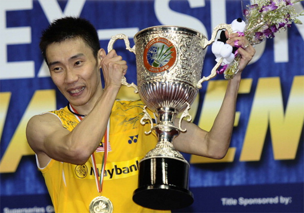 Lee Chong Wei defeated Chen Long of China to win the 2014 India Open