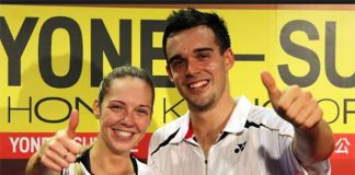 Good luck to Chris and Gabby Adcock at the German Open
