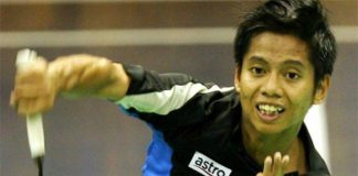 Wish Mohamad Arif Abdul Latif all the best at the Swiss Open