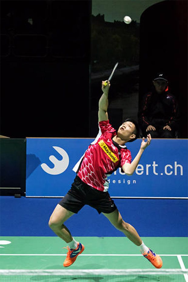 Daren Liew had a golden opportunity to win his second round match at Swiss Open and he just utterly failed. (photo: Badminton Swiss Open)
