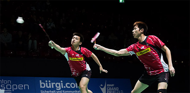 Hope that Goh V Shem and Tan Wee Kiong can pull through at the Swiss Open