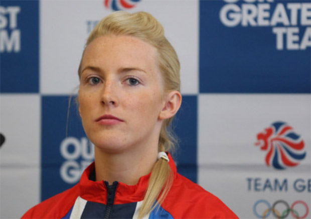 Imogen Bankier is Scotland's most successful women's doubles badminton player of all time