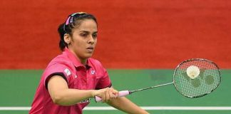 Saina Nehwal could become the new No.1 women's singles player in badminton by end of this week (photo: Saina Nehwal's twitter)