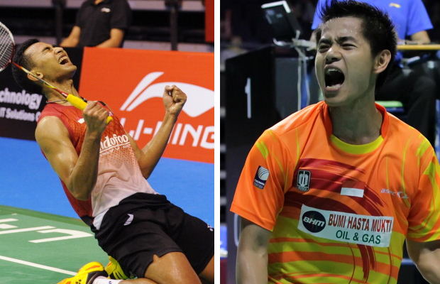 Hope Tommy Sugiarto (left) and Simon Santoso could resurrect their careers after leaving the national team.