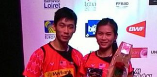 Chan Peng Soon-Goh Liu Ying, all the luck to you both. Keep focus and believe in yourself. (photo: Goh Liu Ying's FB)