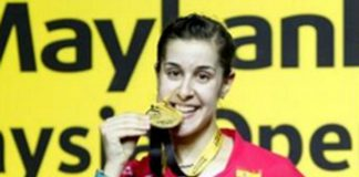 Carolina Marin recovers from a set down to win the Malaysia Open