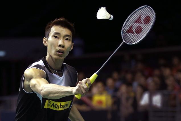 Good luck Lee Chong Wei!
