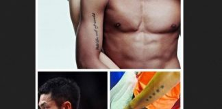 May be Lin Dan should take more sexy underwear shots than getting more tattoos, what do you think?