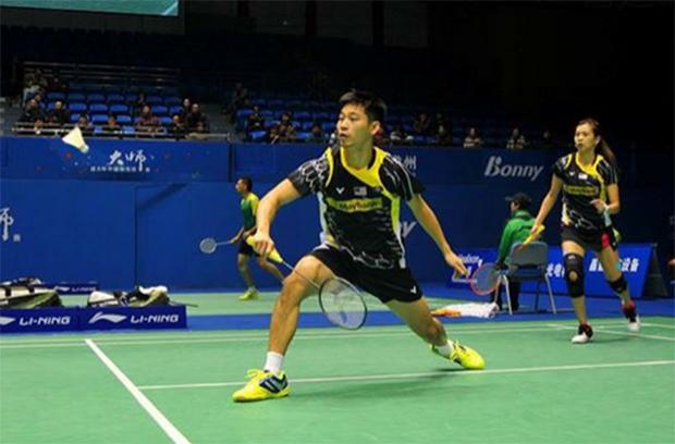 Chan Peng Soon and Goh Liu Ying are making great progress. Keep up the good work. (photo: Goh Liu Ying's Facebook)