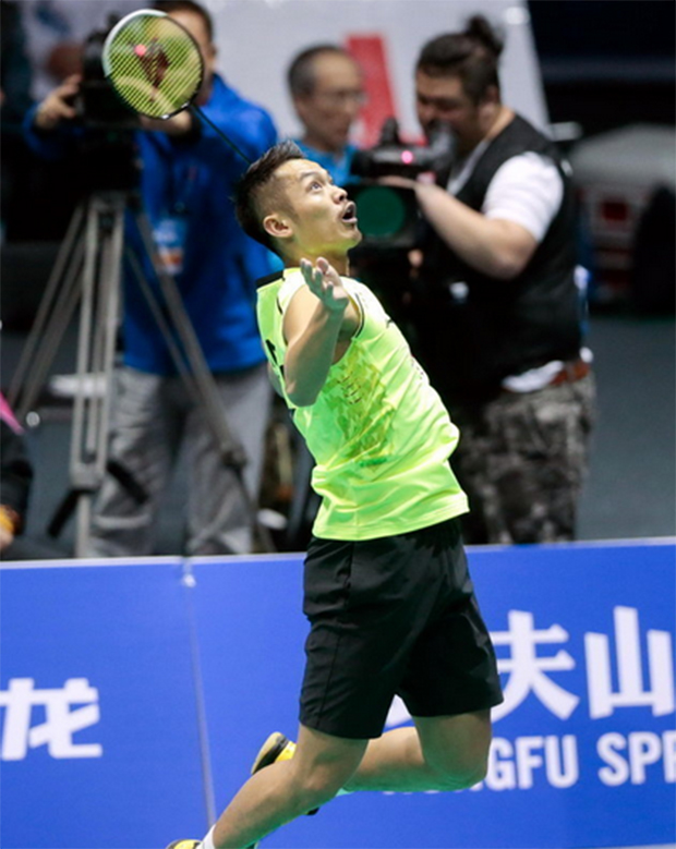 Lin Dan seals an easy win at Badminton Asia Championships on Wednesday