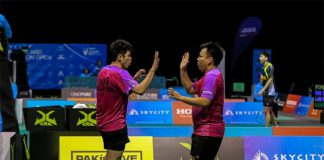 Lim Khim Wah (left) and Hoon Thien How are both very talented men's doubles player. (photo: New Zealand badminton)