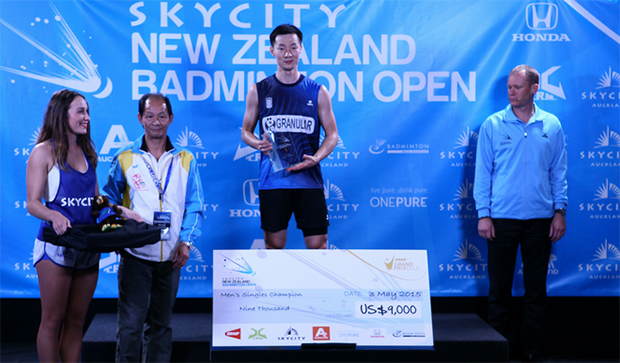 Lee Hyun-il takes home USD$9,000 by winning the New Zealand Open. (photo: New Zealand Open)