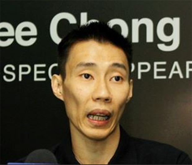 Lee Chong Wei attends a signing ceremony between BAM and XOX mobile on Tuesday. (photo: Bernama)