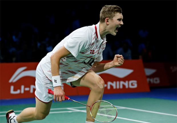 Viktor Axelsen is only the third European who has ever defeated Lin Dan.