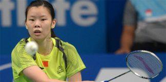 Li Xuerui has performed poorly so far in 2015.