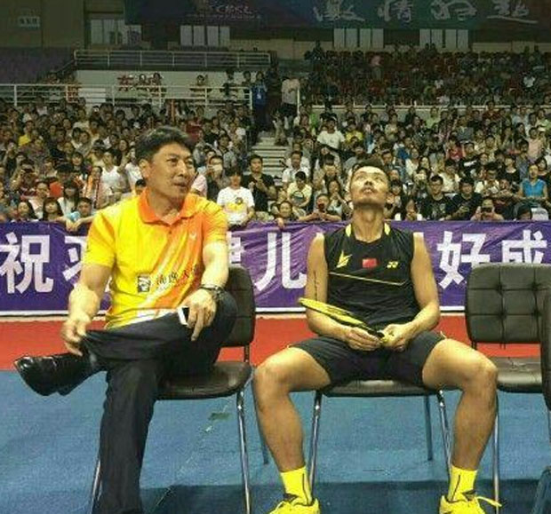 "Lin Dan expressed his ""disappointment"" at the China Badminton Super League's sponsor."