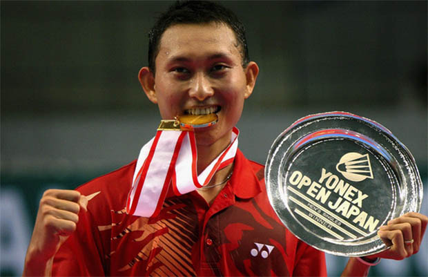 Sony Dwi Kuncoro used to be one of the most formidable men's singles players in Indonesia.
